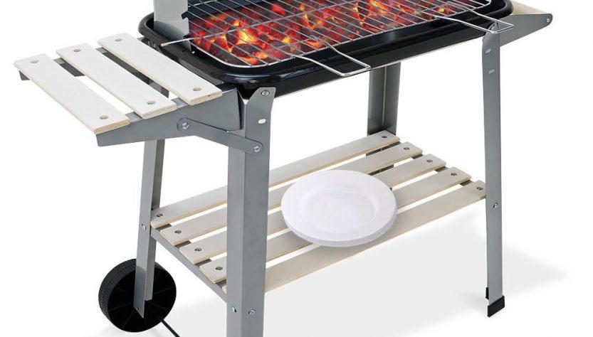 barbecue électrique rectangulaire pas cher