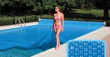 Bâche à bulles de piscine